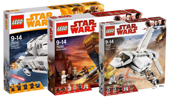 Visuals LEGO Star Wars zomer 2018