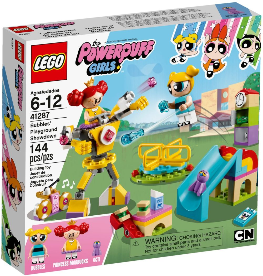 LEGO Powerpuff Girls 41287 Bubbles Playground Showdown