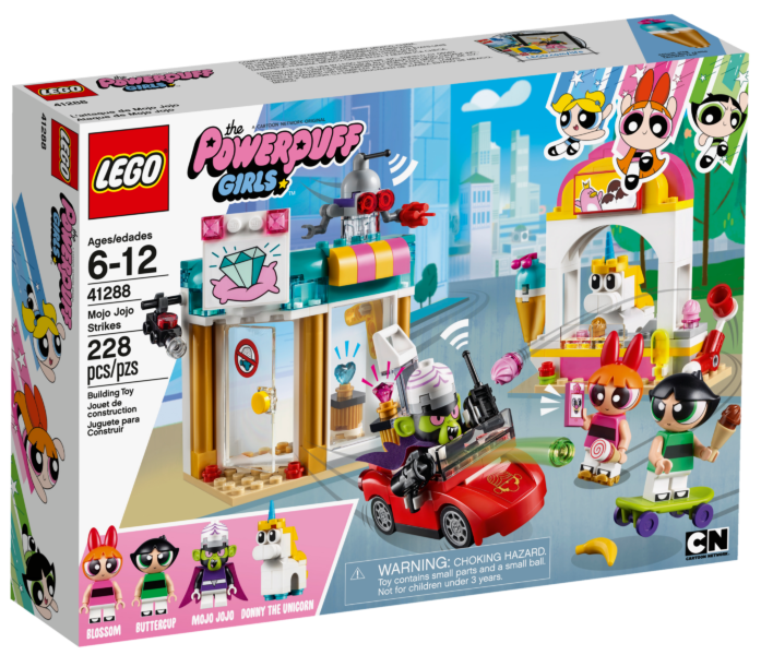 LEGO Powerpuff Girls 41288 Mojo Jojo slaat toe-