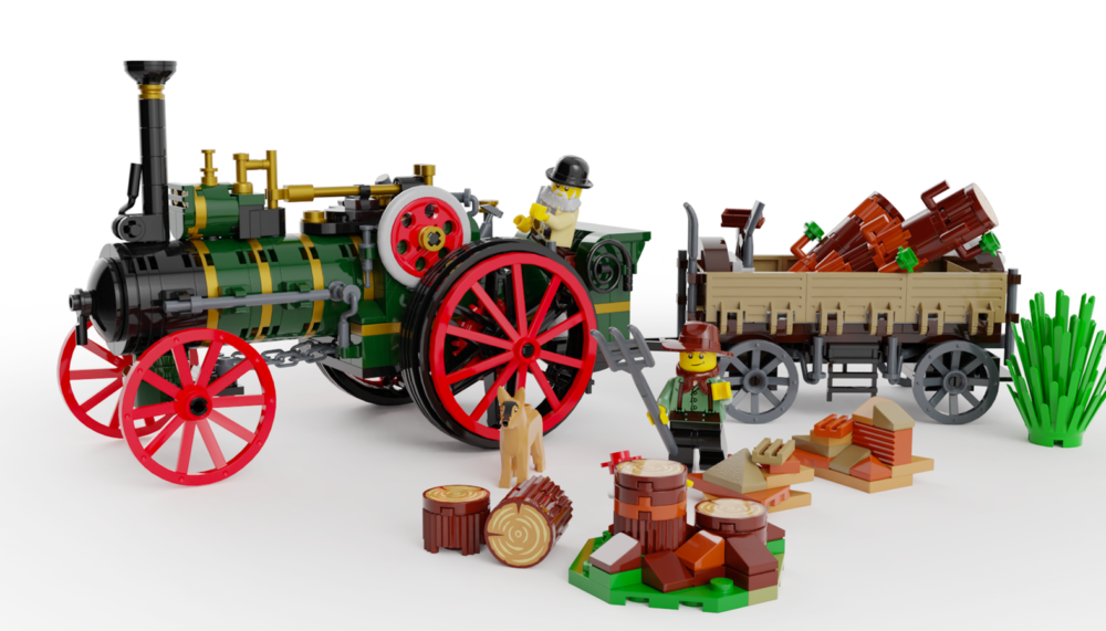 LEGO Ideas The Old Workhorse