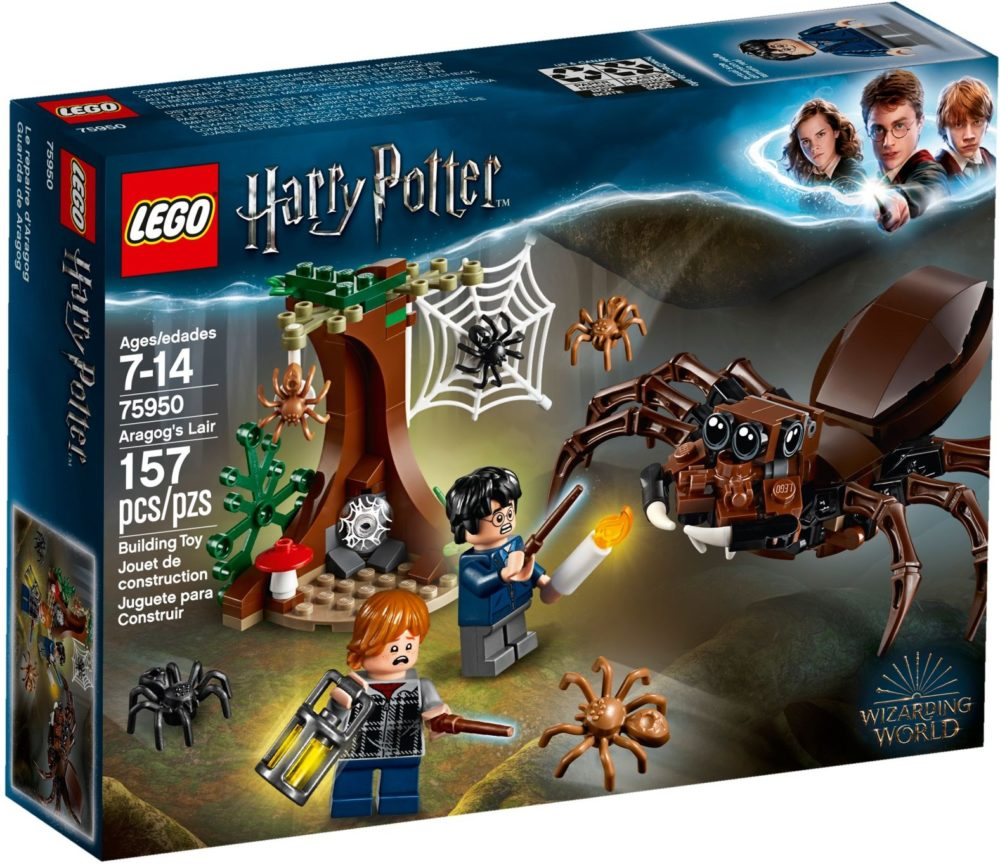 LEGO Harry Potter 75950 Aragog's Lair