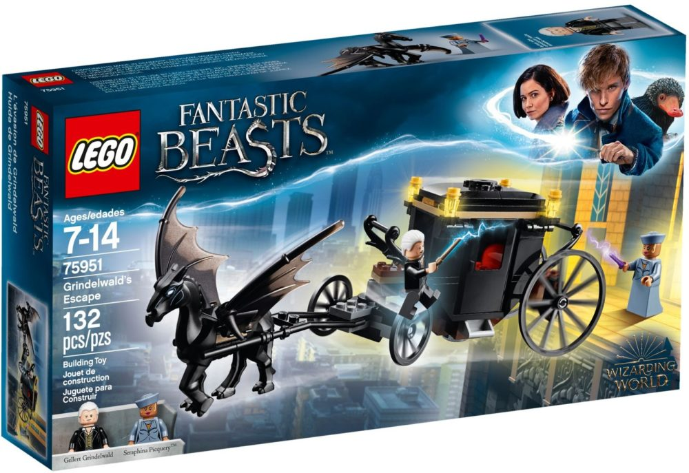 LEGO Fantastic Beasts 75951 Grindelwald's Escape
