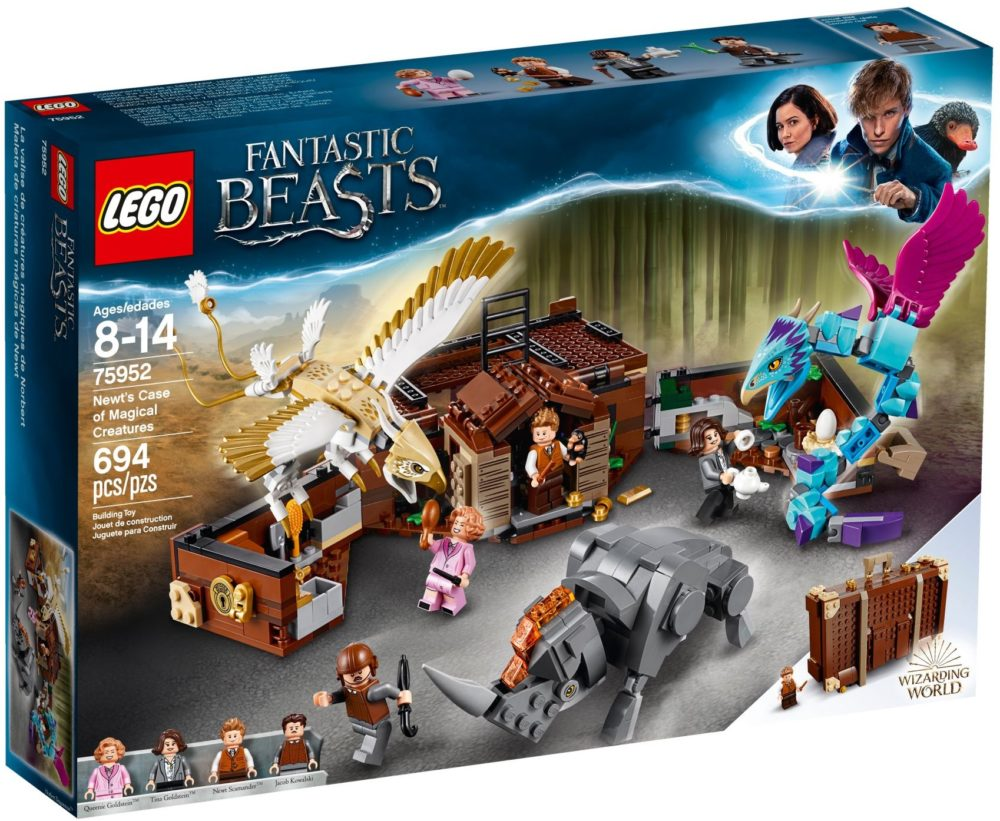 LEGO Fantastic Beasts 75952 Newt's Magical Suitcase