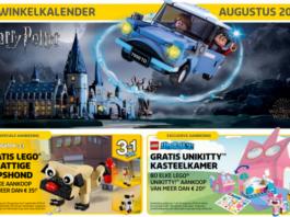 Europese LEGO Store kalender augustus 2018