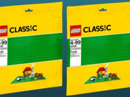 Gratis LEGO 10700 Green Baseplate