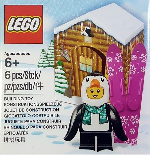 LEGO 5005251 Pinguin Suit Girl opgedoken