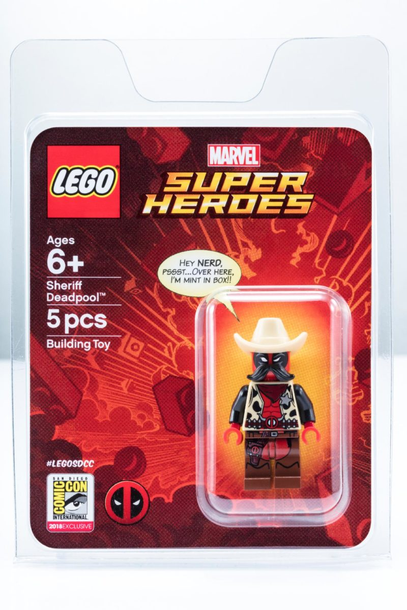 LEGO Marvel Sherrif Deadpool SDCC18