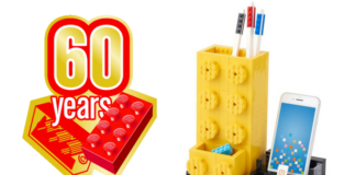 LEGO 60th Anniversary Commemorative Pen Holder