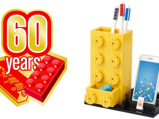 LEGO 60th Anniversary Commemorative Pen Holder