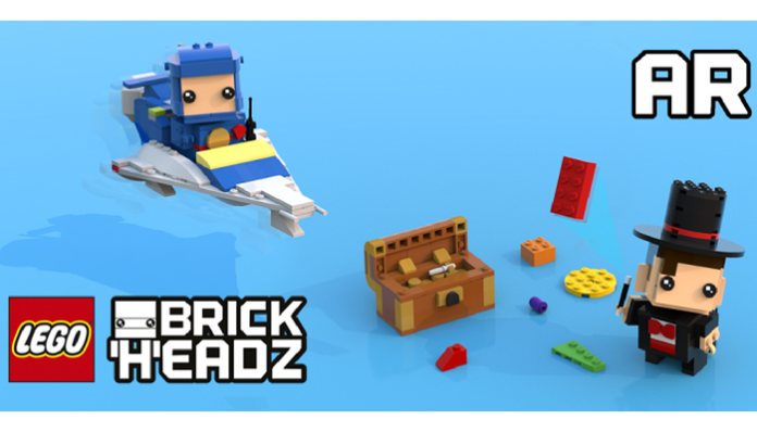 LEGO BrickHeadz Builder AR