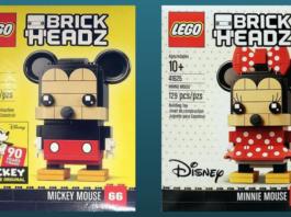 LEGO BrickHeadz Mickey en Minnie Mouse