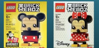 LEGO BrickHeadz Mickey en Minnie Mouse