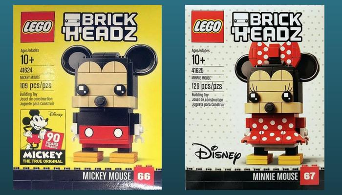 Lego Brickheadz Mickey En Minnie Mouse Bouwsteentjesinfo