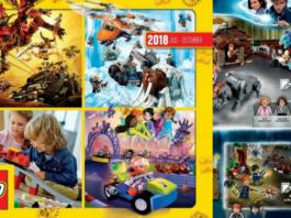 LEGO Catalogus 2H2018