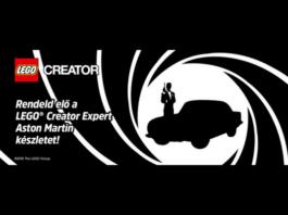 LEGO Creator 10262 Aston Martin DB5 bevestigd