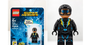 LEGO DC Comics Black Lightning SDCC18