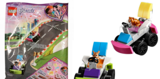 LEGO Friends 5005238 Pet Go-kart Drivers