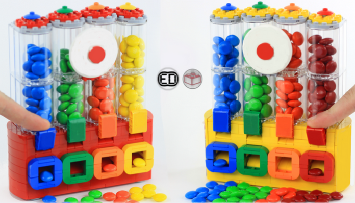 LEGO Ideas Chocolate Candy Dispenser