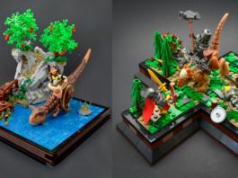 LEGO Jurassic Vignettes
