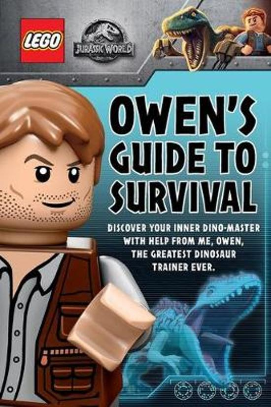 LEGO Jurassic World Owen's Guide to Survival plus Dinosaurs