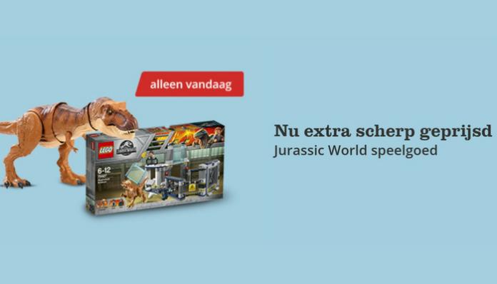 LEGO Jurassic World extra scherp geprijsd
