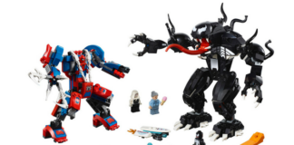LEGO Marvel 76115 Spider-Man Mech vs Venom Mech