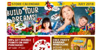 LEGO Store promoties juli 2018