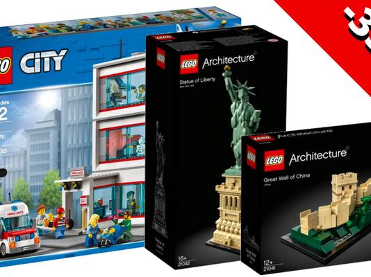 Tot 35% korting op nieuwe LEGO sets