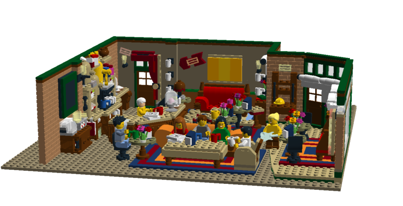 LEGO Ideas The Central Perk
