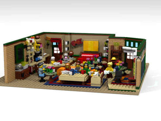 LEGO Ideas The Central Perk