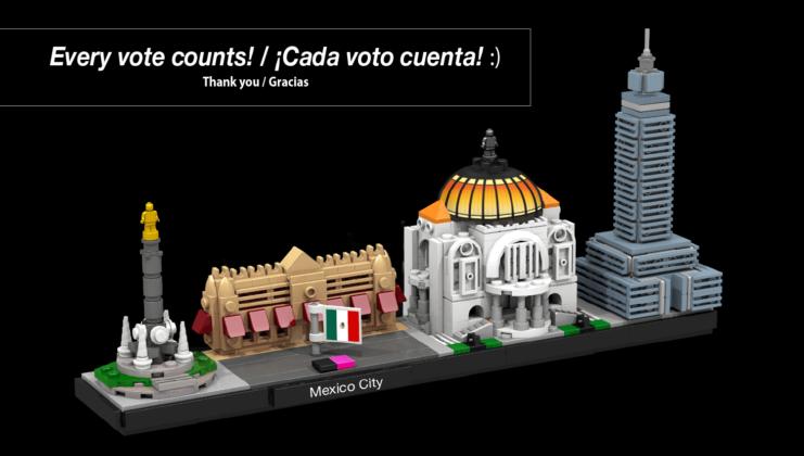 LEGO Ideas Mexico City