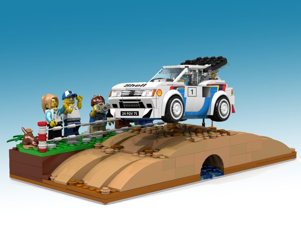 LEGO Ideas Peugeot 205 Turbo 16