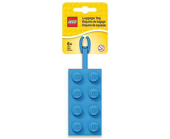 LEGO 5005543 Bag Tag Blue