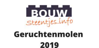 Bouwsteentjes Geruchtenmolen 2019