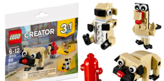 Gratis LEGO Creator 30542 Cute Pug