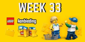LEGO Aanbiedingen week 33 2018