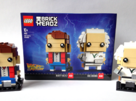 LEGO Brickheadz 41611 Marty McFly and Doc Brown
