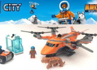 LEGO City 60193 Arctic Air Transport
