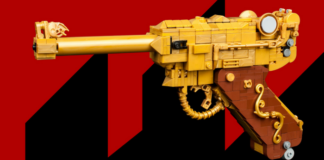 LEGO Gold Pistole 1946