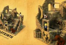 LEGO Ideas Labyrinth - Jareths Castle