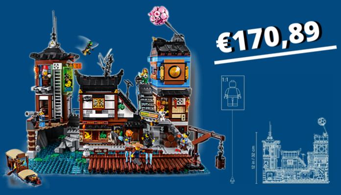 LEGO Ninjago 70657 City Docks