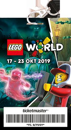 LEGO World Collector Ticket