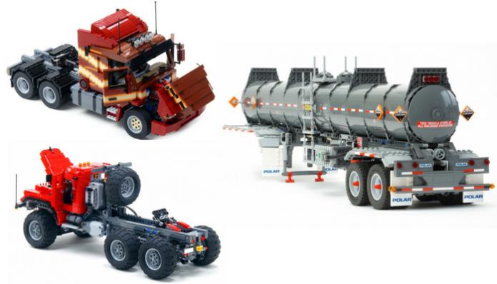 LEGO trucks door Ingmar Spijkhoven