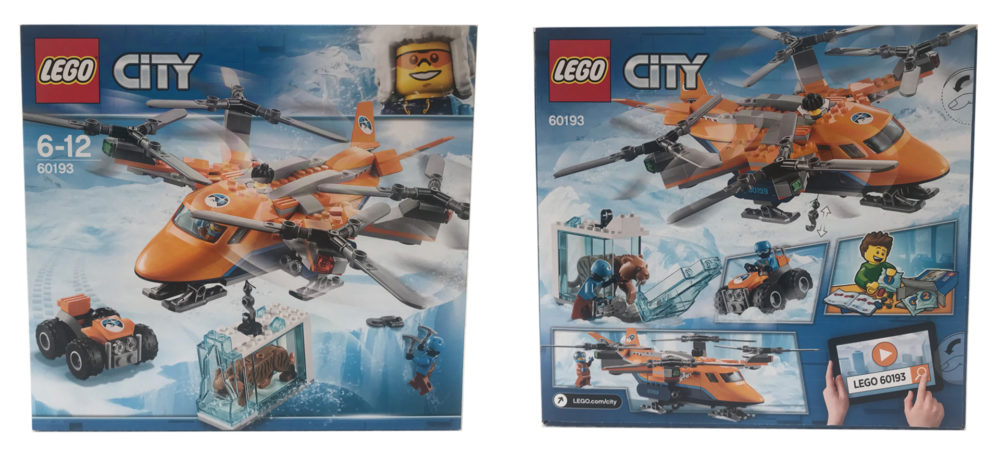 Lego City 60193 Arctic Air Transport - Box Art