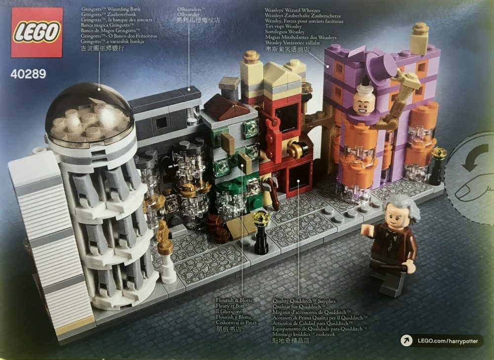 LEGO 40289 Diagon Alley opgedoken