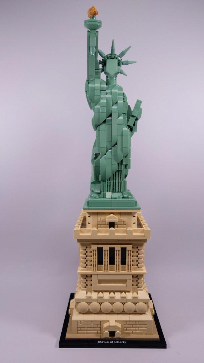 Vrijheidsbeeld Van Lego.Review Lego Architecture 21042 Statue Of Liberty