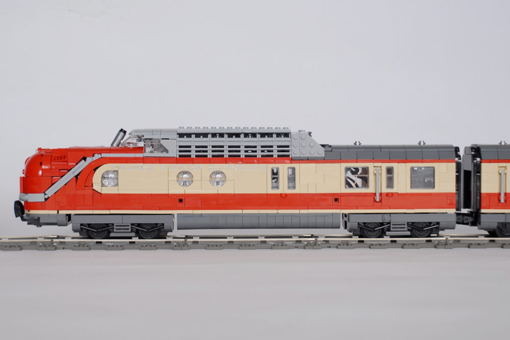LEGO Trans Europ Express