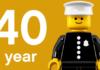 40 jarige bestaan LEGO Minifigure