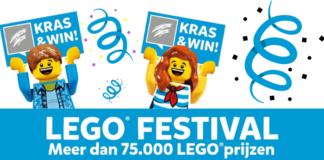 Kras en win LEGO Festival