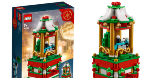 LEGO 40293 Christmas Carousel opgedoken